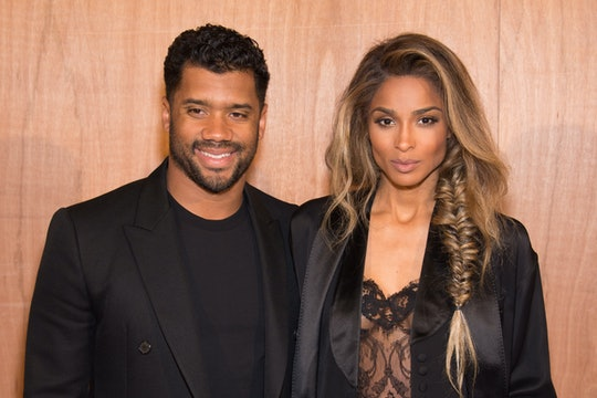 Pregnant Ciara FaceTimed with her husband, Russell Wilson, during a recent ultrasound.