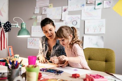 Your few hours of homeschooling each day should include a variety of subjects like art, history, and physical education.