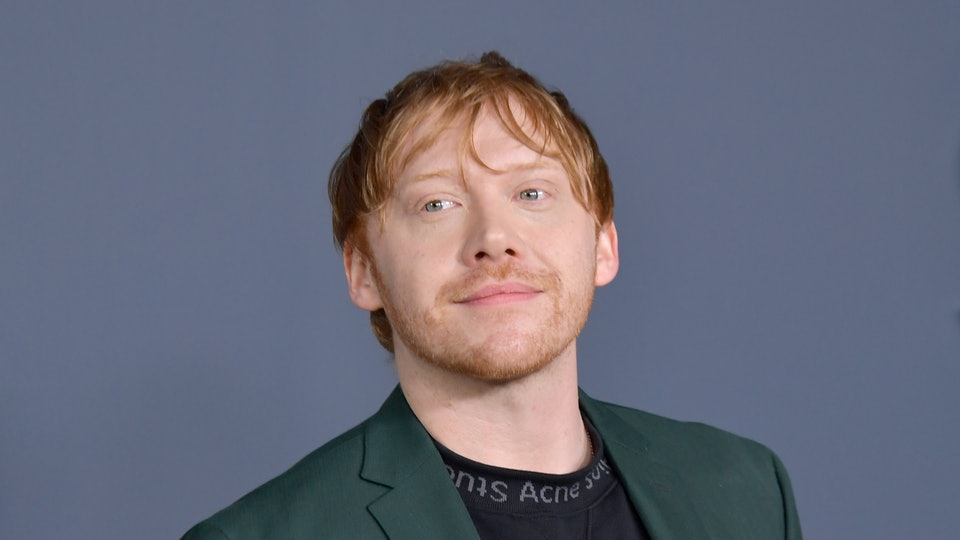 Harry Potter's Rupert Grint told a midwife that she was behaving like a true Gryffindor during the coronavirus pandemic
