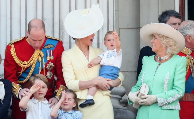 Prince Louis is all about having a great time.
