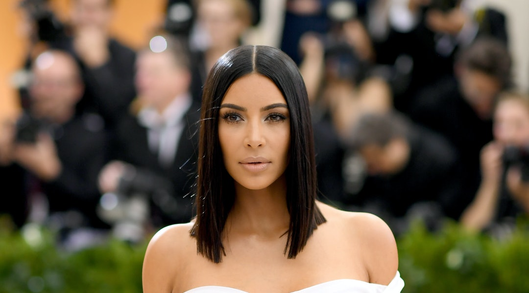 Kim Kardashian is always trying out new nail colors, but often turns to light pinks and nudes.