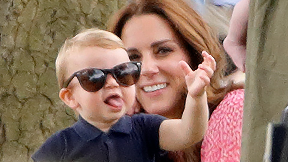 Prince Louis is already the life of the party.