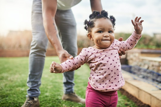 Clumsy toddlers are part of life, according to experts.