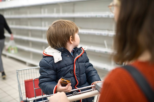 For single parents, shopping during the coronavirus pandemic comes with additional hurdles.
