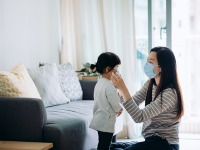 These tips for when you kid is afraid of face masks can help you help your child overcome their fears.