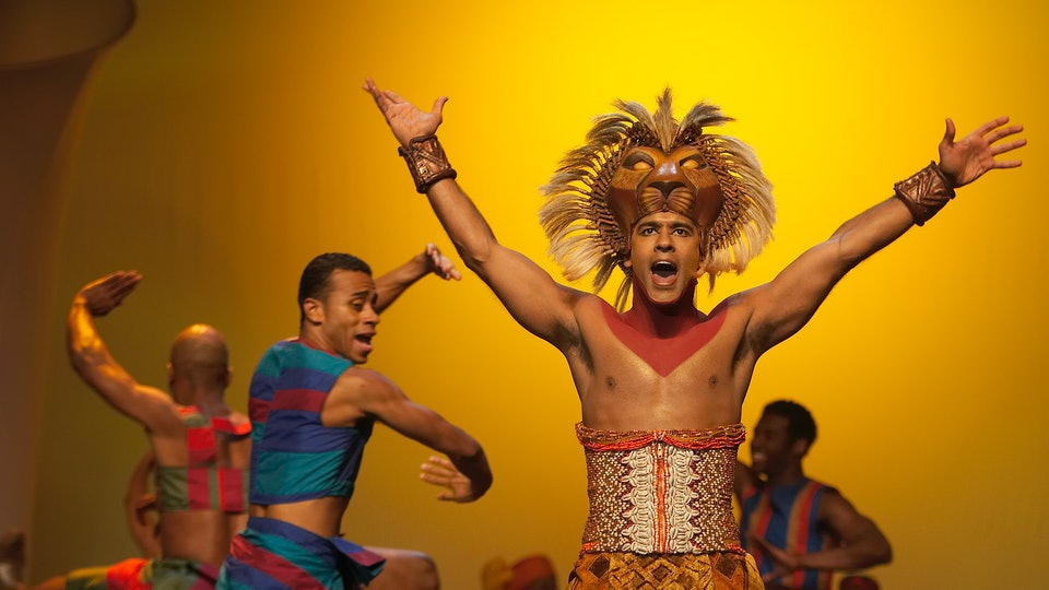 This virtual theater course built around 'The Lion King' on Broadway will keep your kids busy