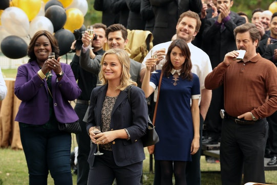 """The cast of NBC's """"Parks and Rec"""" will reunite for a special quarantined episode organized in an att..."""