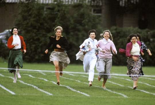 A resurfaced video of Princess Diana running with other moms in 1991 is making people emotional.