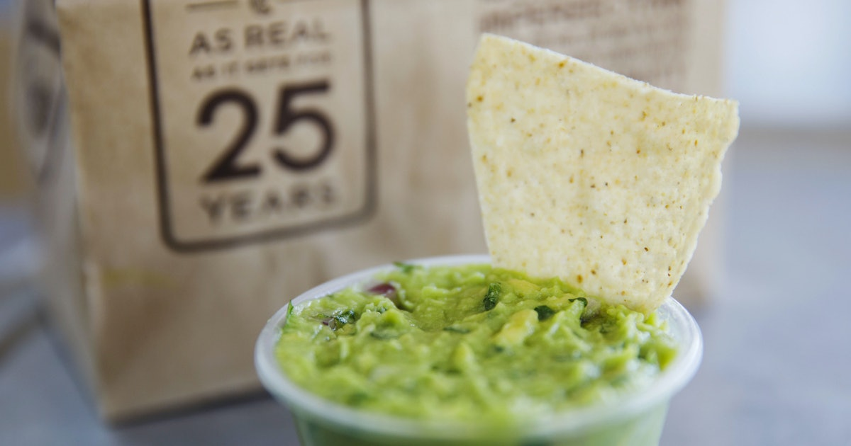 Chipotle Just Shared Its Famous Guac Recipe & You Only Need 6 Ingredients