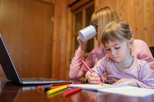 Your child's distance learning requirements will vary by state.