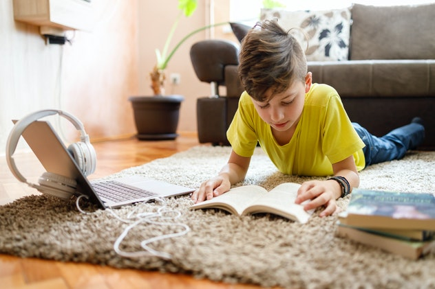 Reading independently before doing other activities is one practical tip from parents during homesch...