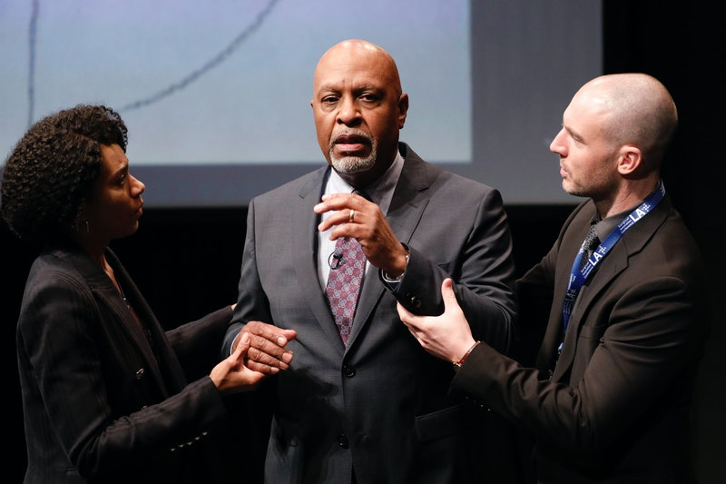 James Pickens Jr., Kelly McCreary, and Richard Flood on ABC's 'Grey's Anatomy'