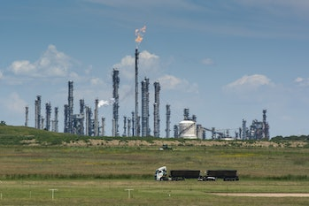 Oil and gas production are major emitters of methane. This process could convert that greenhouse gas into usable plastics.