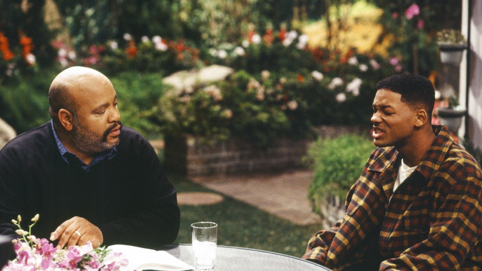 """A image clip of Smith and Avery from """"fresh prince of bel-air"""""""