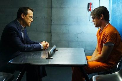 Tom Verica as Sam Keating & Charlie Weber as Frank Delfino on 'HTGAWM'
