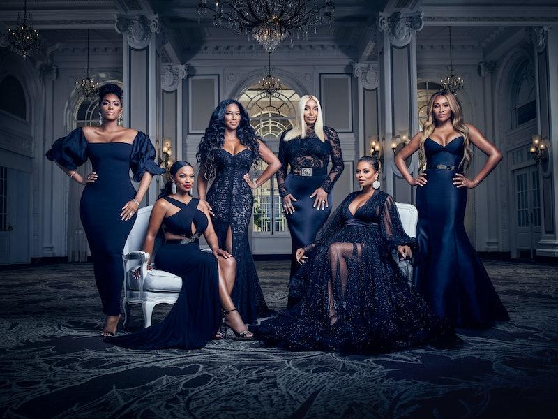 'RHOA' cast members Porsha Williams, Kandi Burruss Tucker, Kenya Moore, NeNe Leakes, Eva Marcille, and Cynthia Bailey