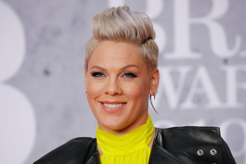 Pink said she and her son recently recovered from coronavirus.