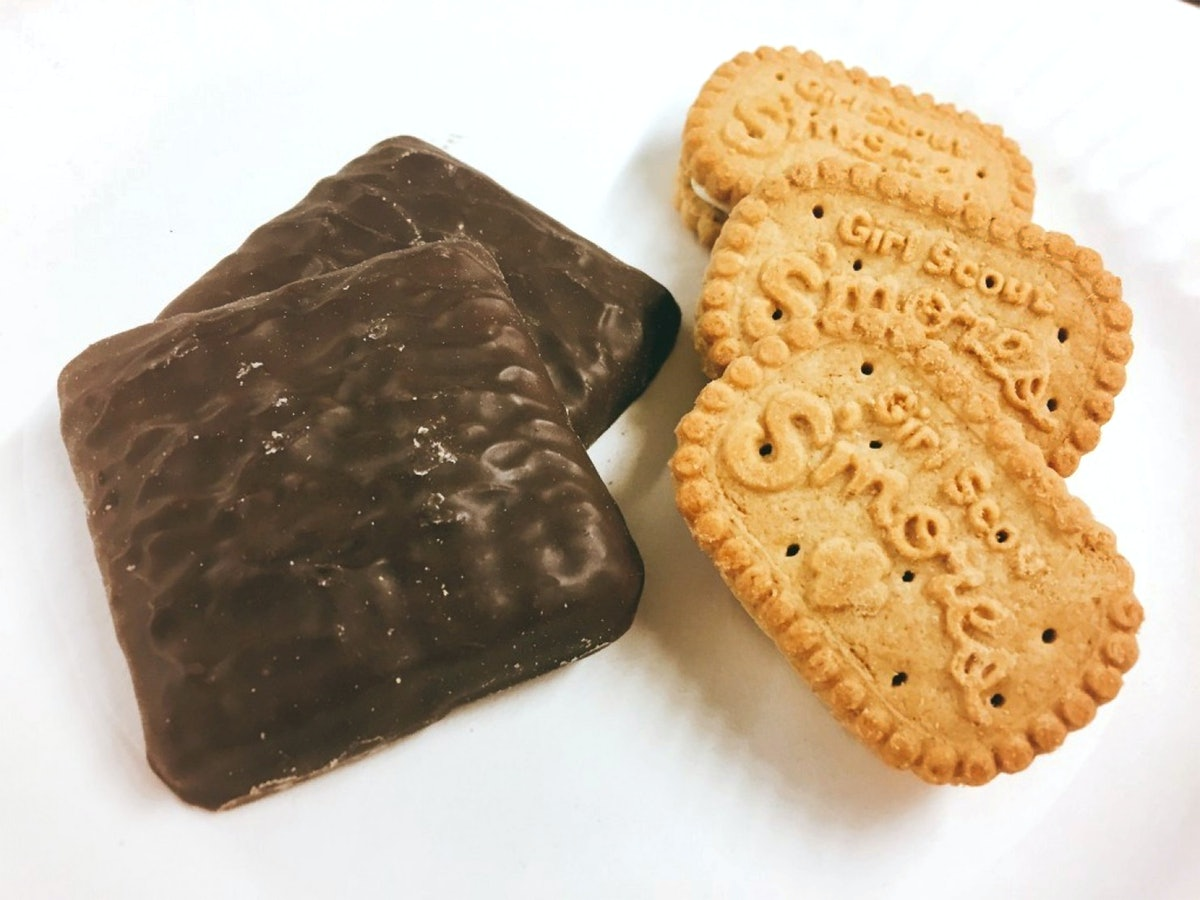 You can donate Girl Scout cookies to health care workers and first responders.