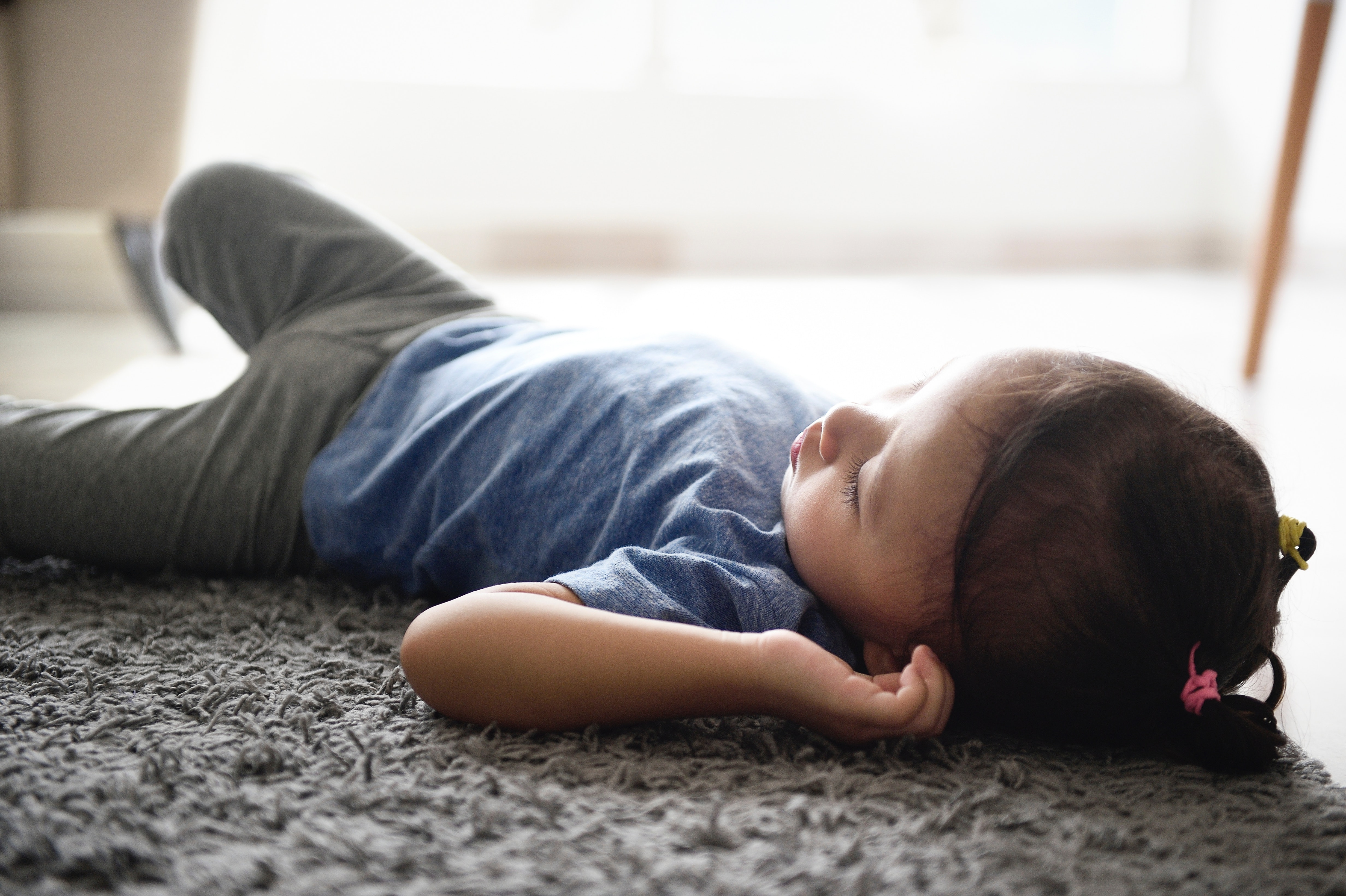 Toddlers Sleeping On The Floor Isn T As