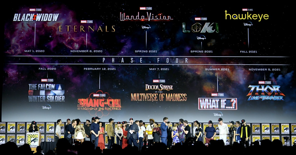 The Marvel Cinematic Universe's Phase 4 Schedule Has Changed, So Mark Your Calendars