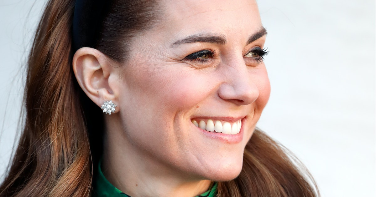 The Super-Simple, Kate Middleton-Approved Hairstyle That's Perfect For All Those Zoom Meetings