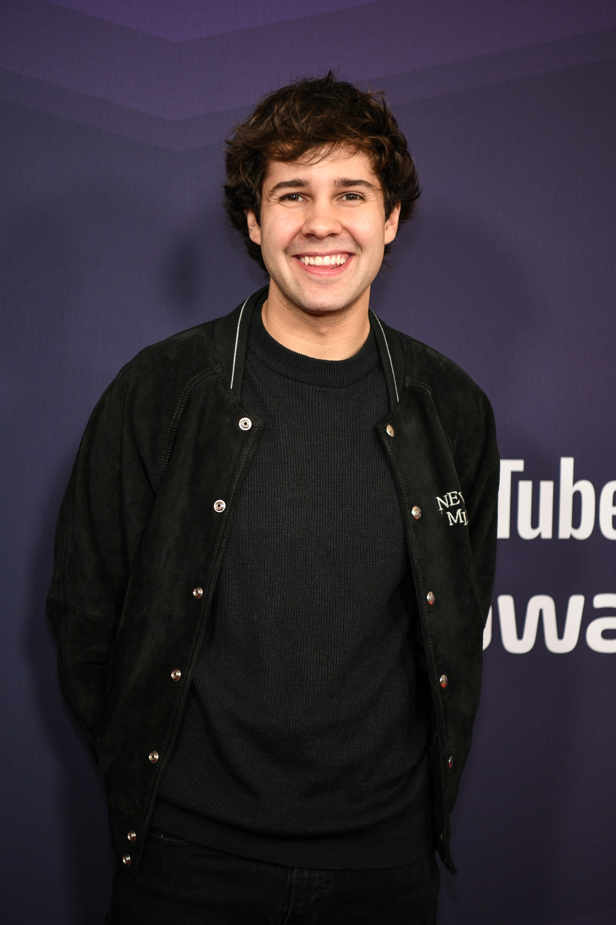 David Dobrik attends an event for YouTube.