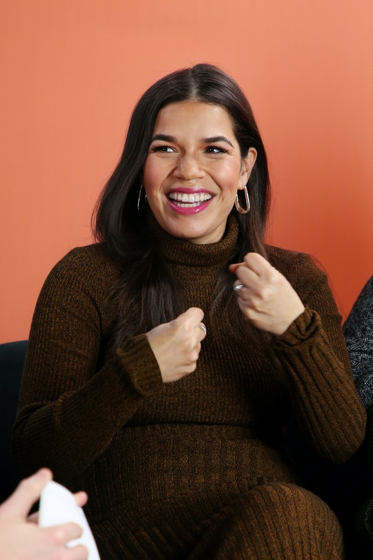 America Ferrera welcomed her second child on May 4th