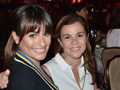 Lea Michele shared a photo featuring her pregnancy bump in honor of Mother's Day 2020.
