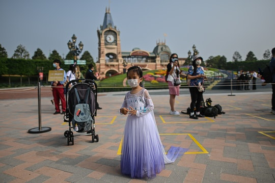 Shanghai Disneyland reopens with safety precautions in place