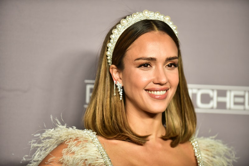 Jessica Alba recently shared a photo featuring a chic WFH hairstyle with her followers on Instagram.