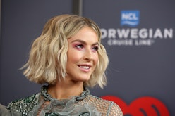 Julianne Hough's pink hair looks so different than her signature blonde.