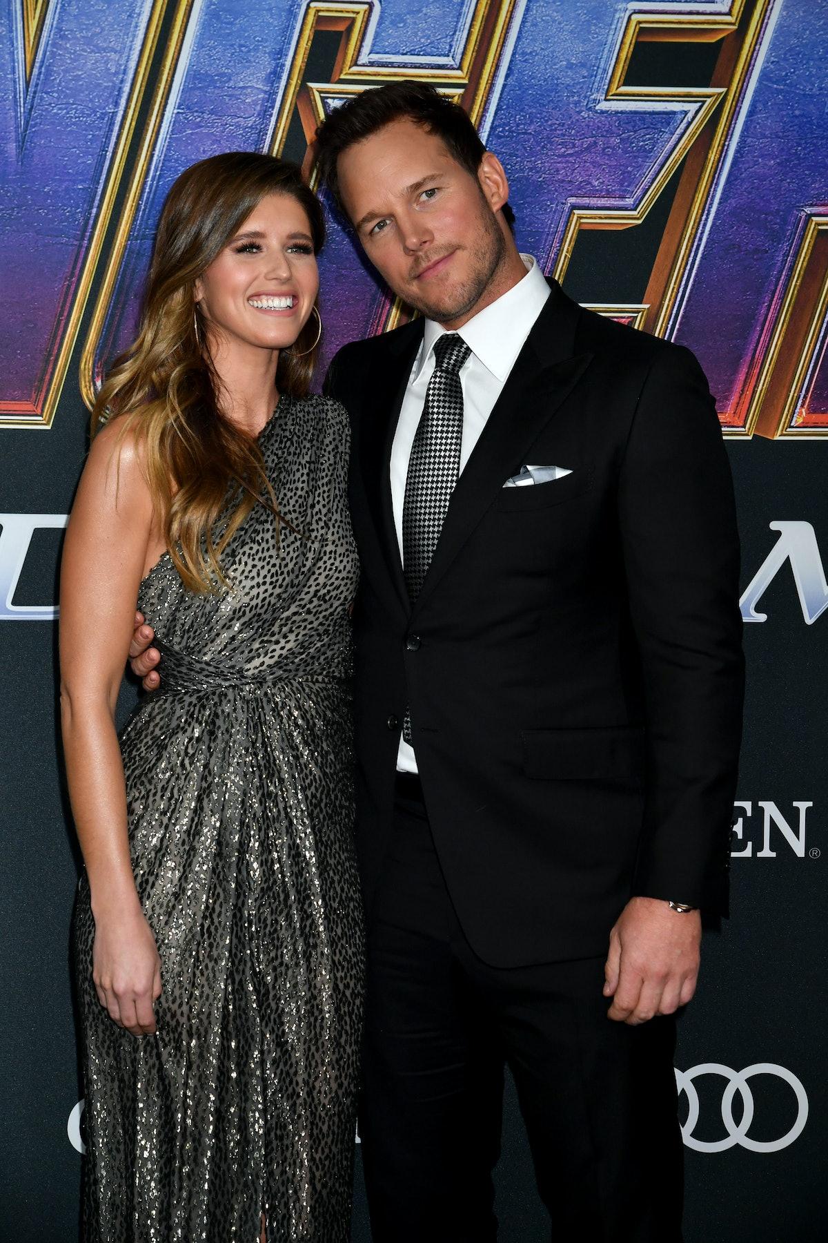 Katherine Schwarzenegger and Chris Pratt hit the red carpet.