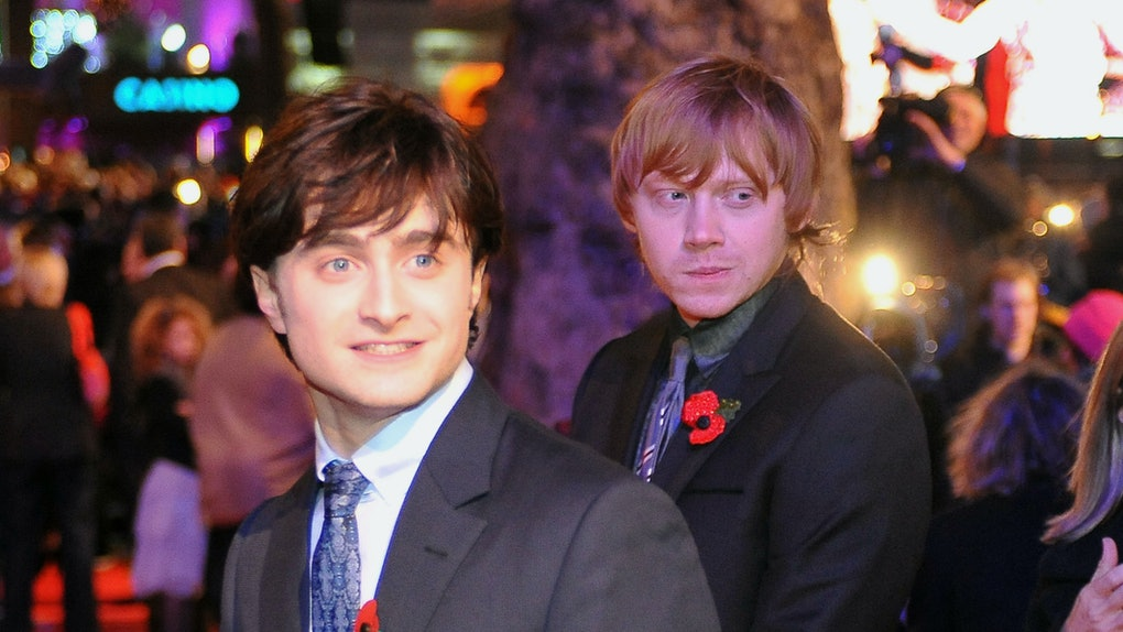 Daniel Radcliffe and Rupert Grint hit the red carpet.