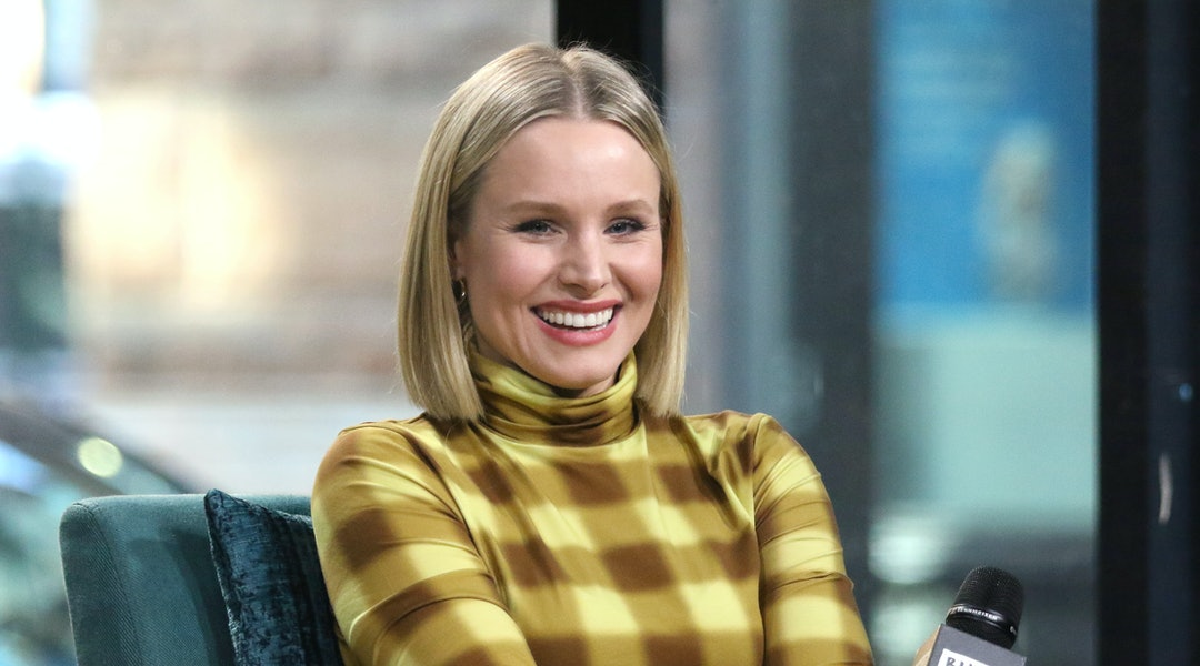 Actor Kristen Bell is launching a New CBD Skincare Line called Happy Dance