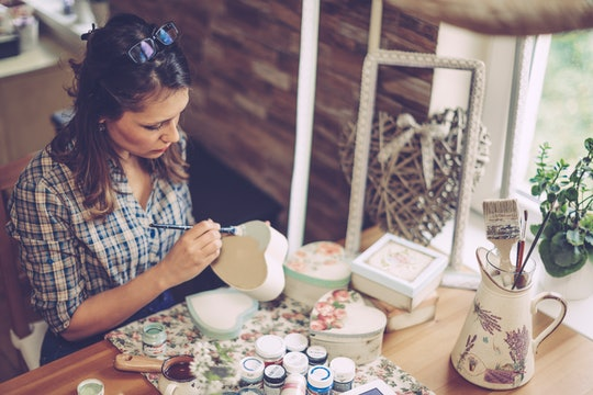 Experts agree that keeping some hobbies to yourself will help you carve out time for self care.