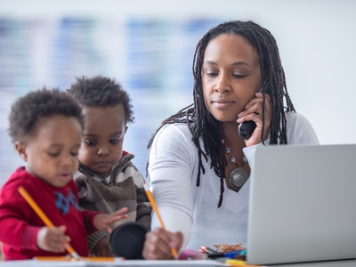 New research shows the ongoing coronavirus pandemic is disproportionately impacting black moms at both work and home.