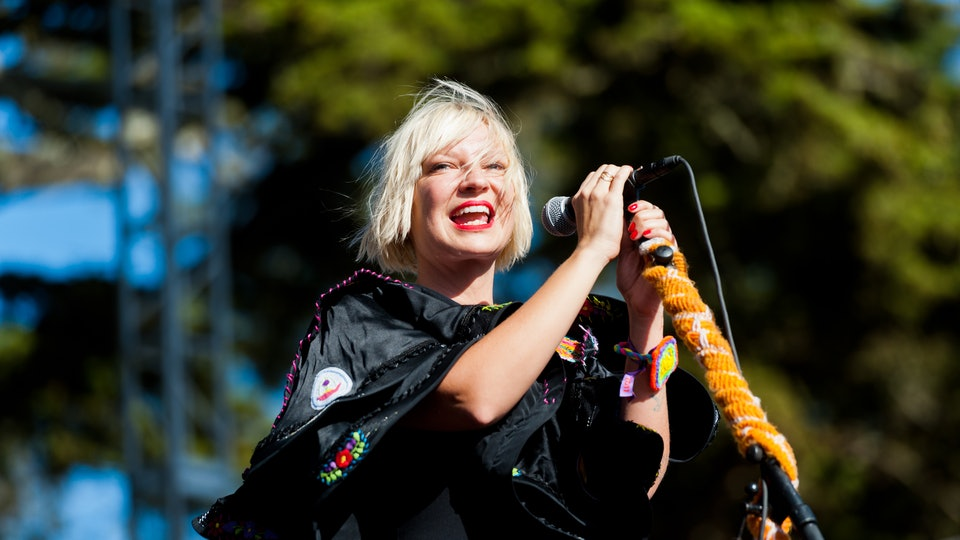 Sia adopted two sons who were aging out of foster care.