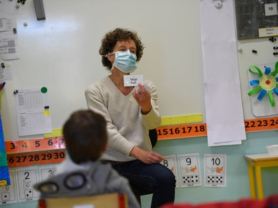 The Centers for Disease Control and Prevention (CDC) has released guidelines for reopening schools that includes face masks and social distancing.