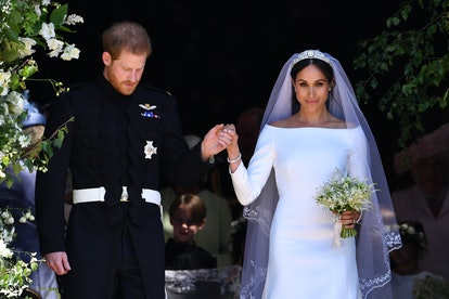 Prince Harry and Meghan Markle reportedly celebrated their second wedding anniversary with their son in Los Angeles.
