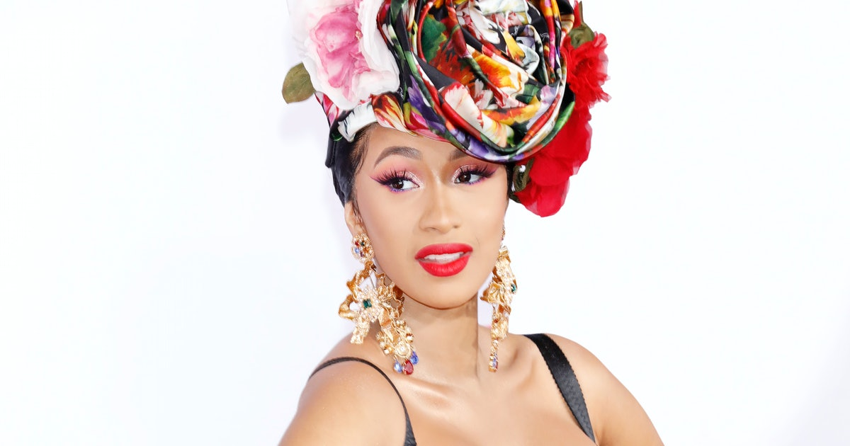Cardi B's New Back Tattoo Might Be Her Biggest One Yet
