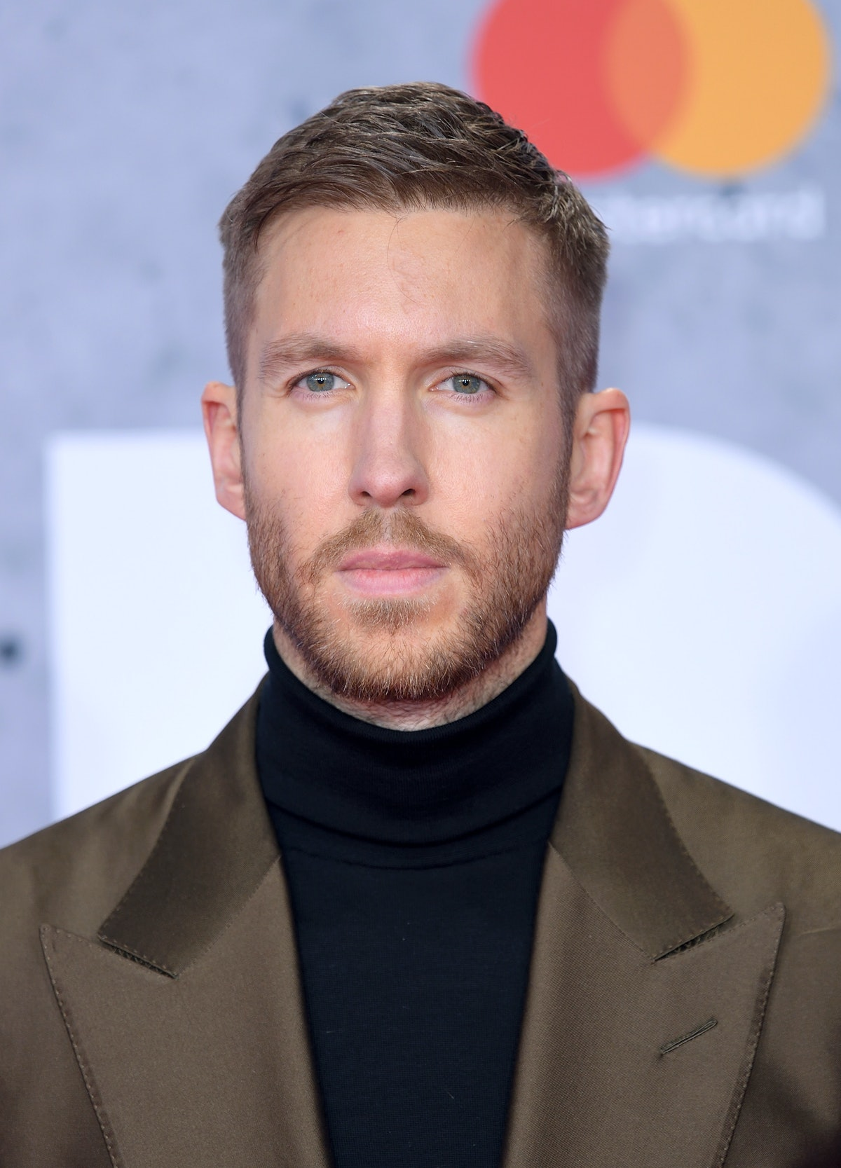 Calvin Harris attends the Brit Awards.