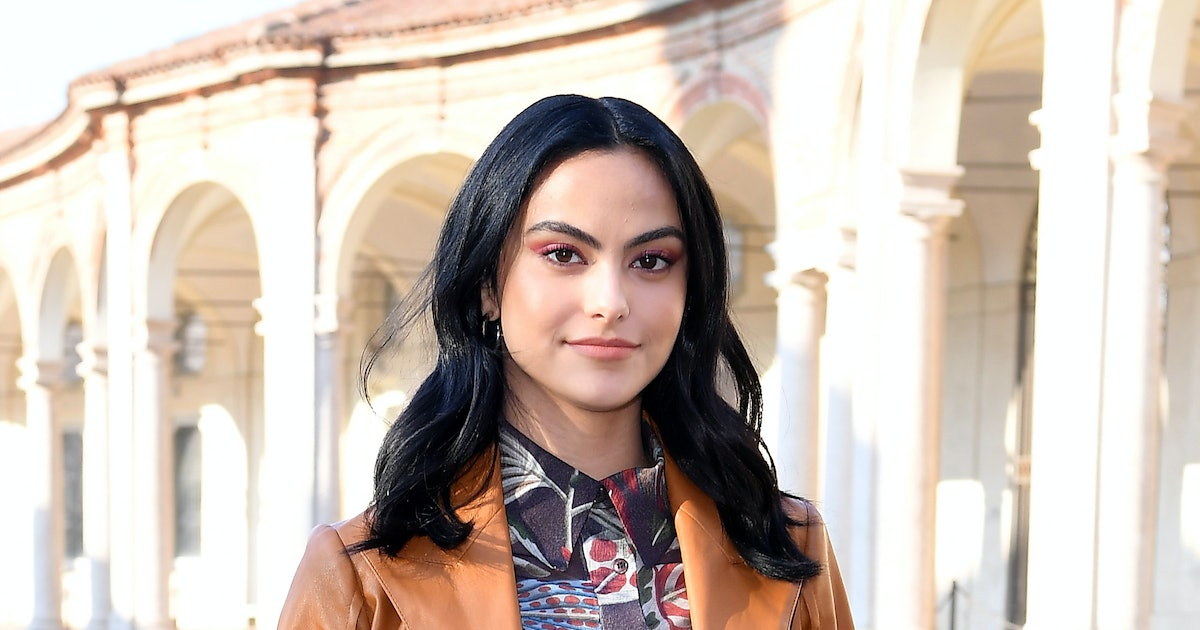 Camila Mendes' On-Trend Top And Jeans Combo Is So Easy To Recreate