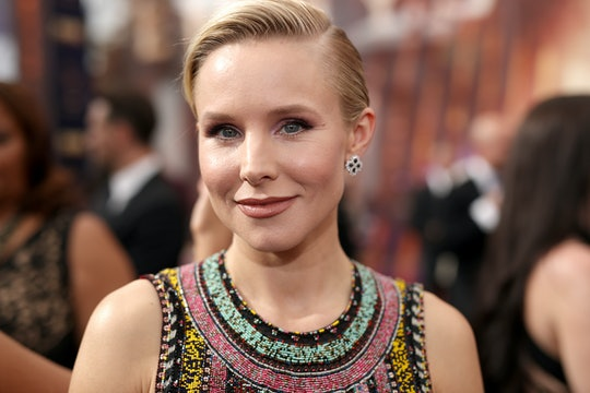 Kristen Bell talked about her 5-year-old wearing diapers.
