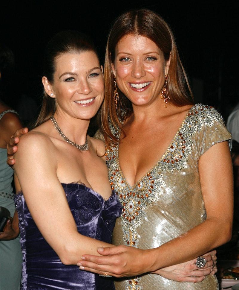 Former 'Grey's Anatomy' costars Ellen Pompeo & Kate Walsh