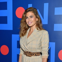 Celebrity Haircuts Of 2020 include Eva Mendes' bob cut