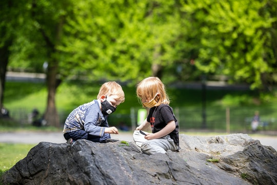 It is possible to ask friends with kids about how they are social distancing without ruining your re...