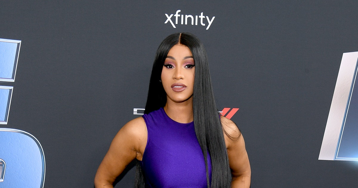 Cardi B Just Revealed A Giant New Back Tattoo That Took 60 Hours To Complete