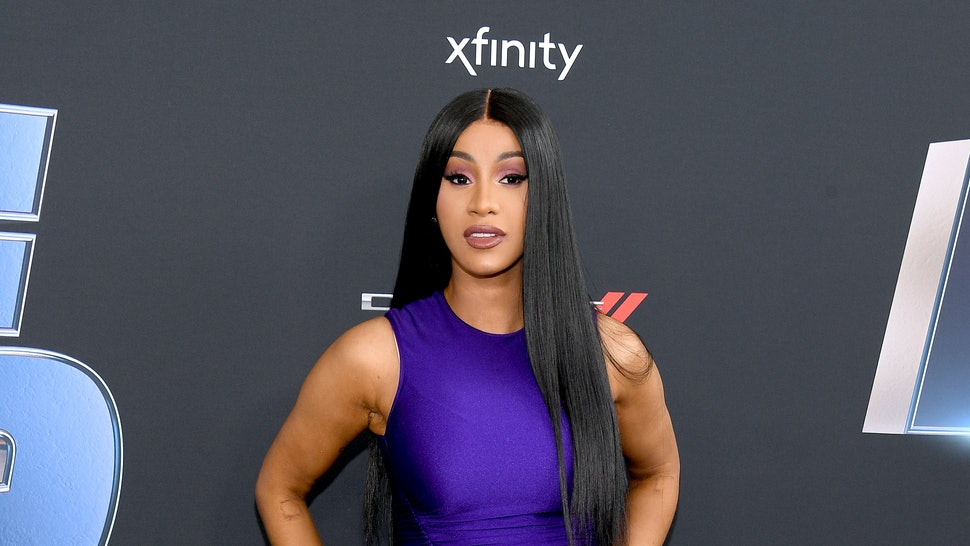 Cardi B S New Tattoo Is All About Offset It S In The: Cardi B's New Back Tattoo Took 60 Hours To Complete