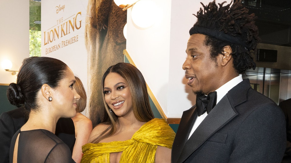 Meghan Markle meets Beyonce and Jay-Z.