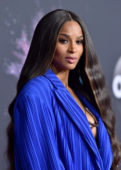 Ciara recently shared an image on Instagram rocking long bleach blonde hair.